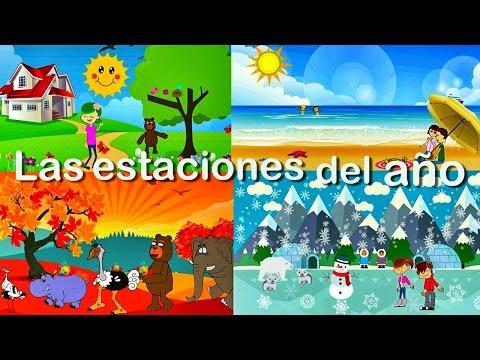 La Canción de las Estaciones del Año para Niños | Videos Educativos Infantiles en Español