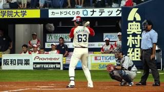 2012年8月25日(土)、京セラドーム大阪で開催されたオリックス・バファ...