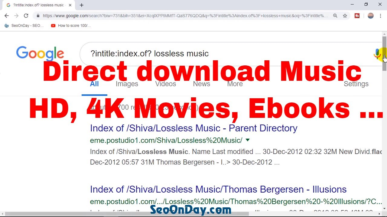 How to get Direct Download Link of Lossless music vs HD 4K Movies 🆓