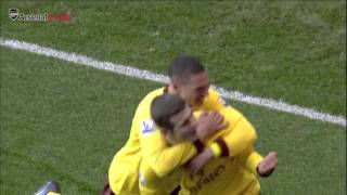 On this day in 2010 Jack Wilshere scored his first Premier League goal for Arsenal
