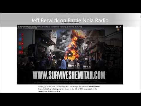 Surviving The Super Shemitah With Dollar Vigilante Jeff Berwick - Full Show 7/20/16