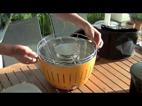 test lotus grill xl tutorial video best 4k doovi. Black Bedroom Furniture Sets. Home Design Ideas