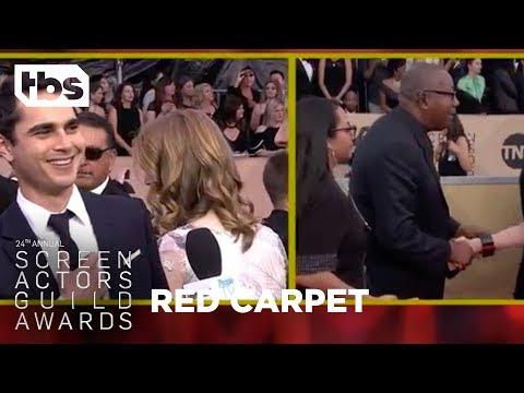 Max Minghella: Red Carpet   24th Annual SAG Awards  TBS