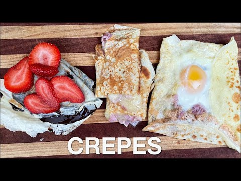 Crepes - You Suck at Cooking (episode 123)