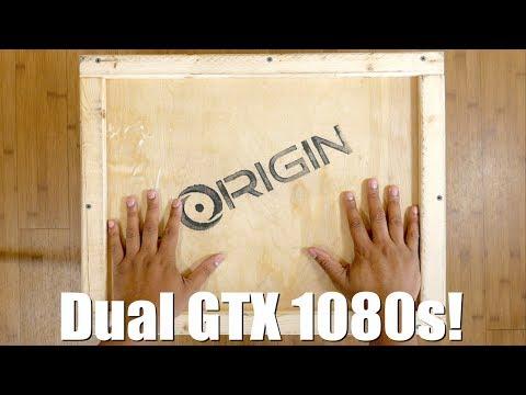 Unboxing a $5000 Laptop w/ Dual GTX 1080s!