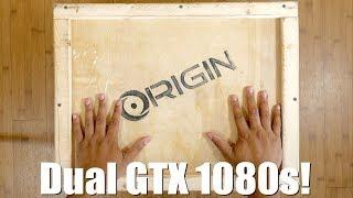 Unboxing a $5000 Laptop w/ Dual GTX 1080s! - Origin EON17-SLX