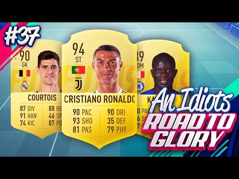 THE ROAD TO GLORY DREAM TEAM!!! AN IDIOTS FIFA 19 ROAD TO GLORY!!! Episode 37
