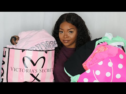 HUGE I SPENT $400 AT VS PINK SEMI ANNUAL SALE /TRY ON HAUL
