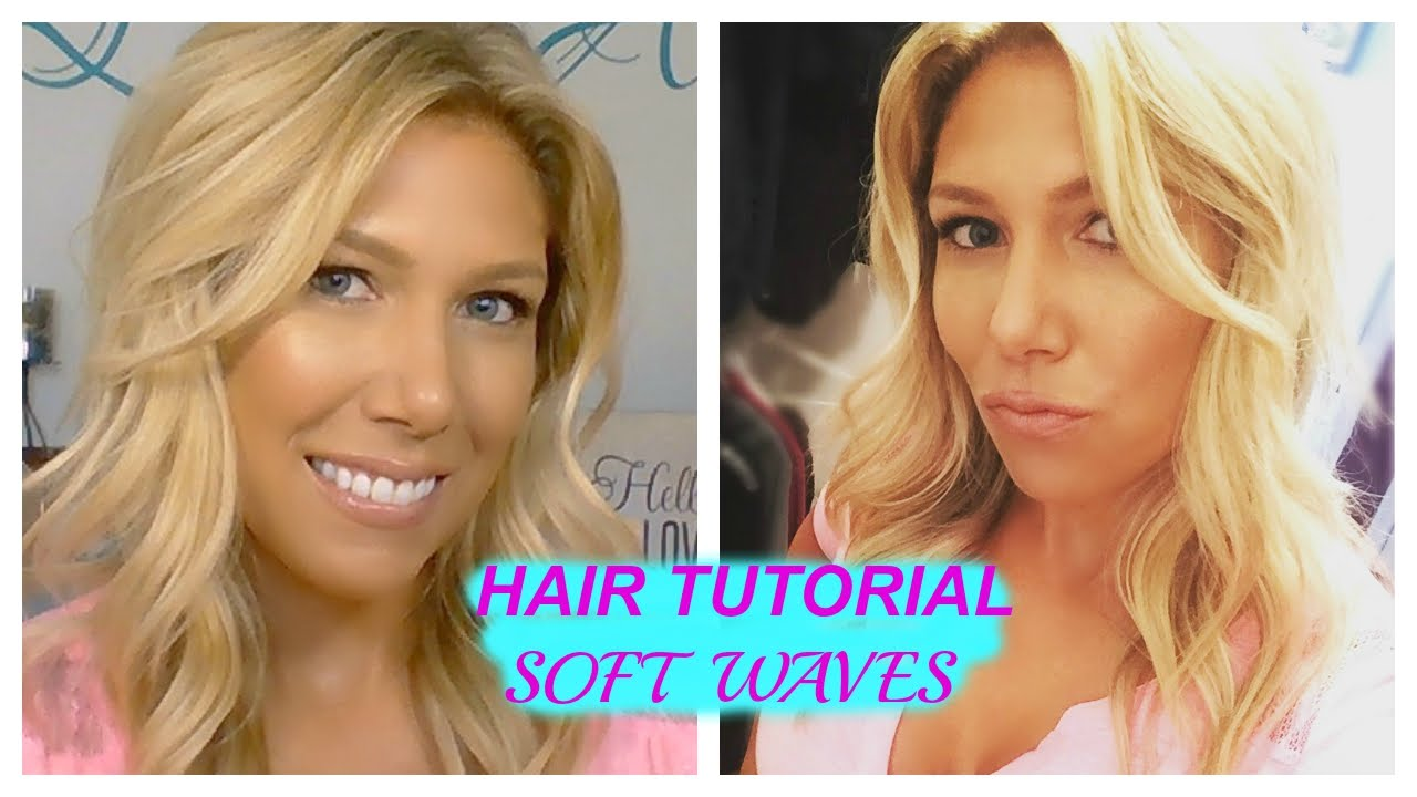 HAIR TUTORIAL SOFT WAVES - YouTube