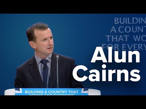 Alun Cairns: Speech to Conservative Party Conference 2017