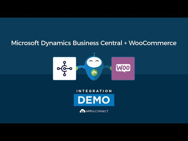 Integrate Microsoft Dynamics 365 Business Central ERP and WooCommerce Store | APPSeCONNECT