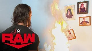 "Seth Rollins goes berserk, destroying  Firefly Fun House"": Raw, Oct. 14, 2019"