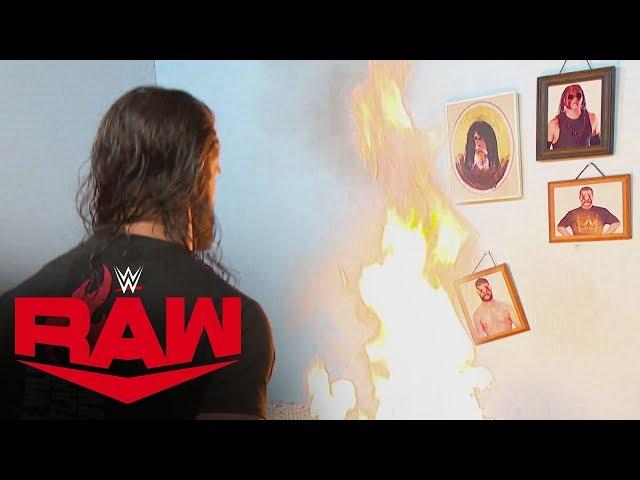 "Seth Rollins goes berserk, destroying ""Firefly Fun House"": Raw, Oct. 14, 2019"