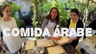 COCINANDO COMIDA ÁRABE | JORDANIA #2