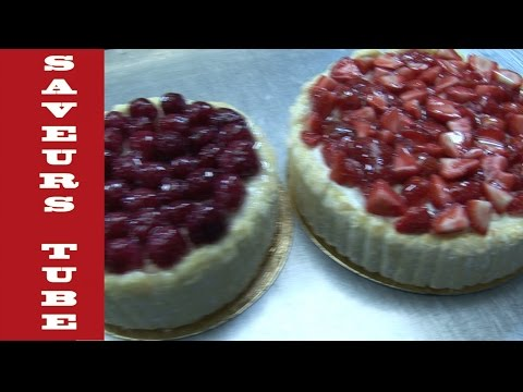 How to make a Charlotte Cake with TV Chef Julien from Saveurs Dartmouth U.K.