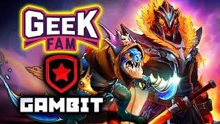 GEEK FAM vs GAMBIT - MAIN EVENT - Bukovel Minor WePlay! 2020 DOTA 2