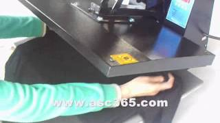 Cut PU viny HeatTrasfer Vinyl by ASC365 Cutting Plotter