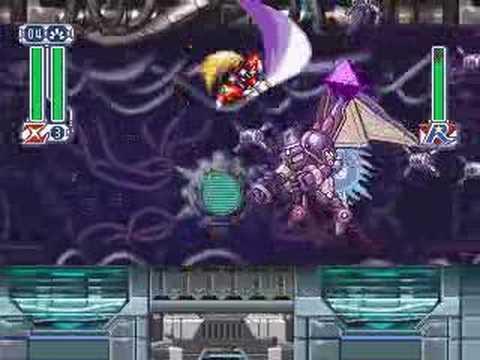 ROCKMAN X4 - Zero VS Iris