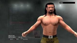 WWE 2K17:The Brian Kendrick CAW formula(Xbox 360/PS3)