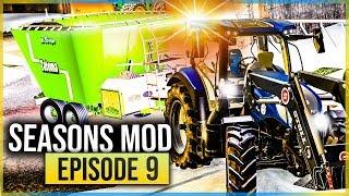 SEASONS MOD #9   GROSSE GALÈRE POUR NOURRIR LES ANIMAUX ! (Farming Simulator 19 MULTIJOUEURS)