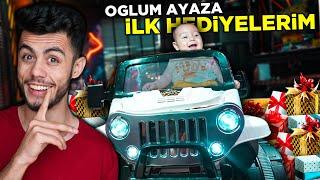 OĞLUM AYAZA İLK HEDİYELERİNİ ALDIM !! ( YENİ AKÜLÜ ARABASI )