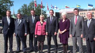 Nordic-Baltık Konseyi toplantısı Telif hakkı:Ünsal Turan