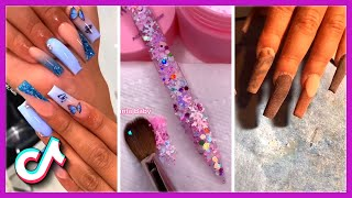 Gorgeous TikTok Acrylic Nails Compilation Amazing Ideas to Inspire You