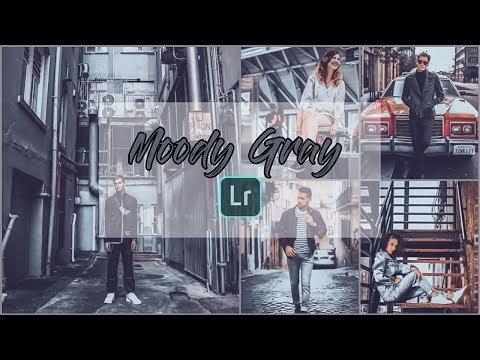 Lightroom Tutorial Moody Grey   Lightroom Mobile Moody Grey   Lightroom Moody Grey Preset 2019