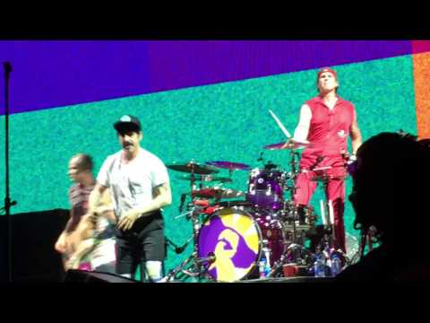 Red Hot Chili Peppers, Minneapolis, MN, Target Center, 1/21/2017, Higher Ground