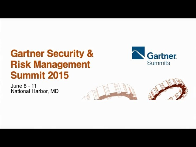 AhnLab at Gartner Summit 2015