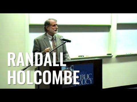 "1 of 5: Randall Holcombe: ""The Bush-Obama Stimulus Programs and the Future of American Capitalism"""