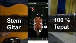 Cara Stem Gitar Bagi Pemula Menggunakan Aplikasi | Chord Gitar