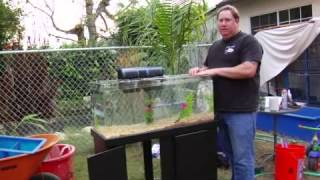 How To Build An Aquarium Stand