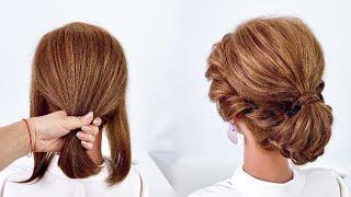 10 Причесок на короткие волосы Простые прически пошагово