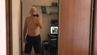 Толстый против нормального - 84 день. Похудел сравни.