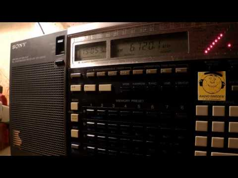 11 10 2016 Shortwaveservice Test Transmission, Music To WeEu 1905 On 6120 Yerevan