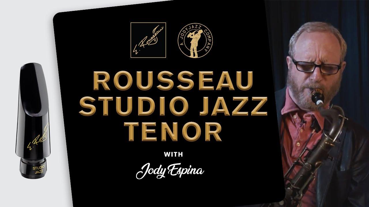 Rousseau Studio Jazz Tenor Saxophone Mouthpiece 6 E