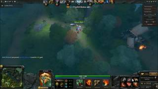dota2 - Epic moments *how to get lucky in dota*