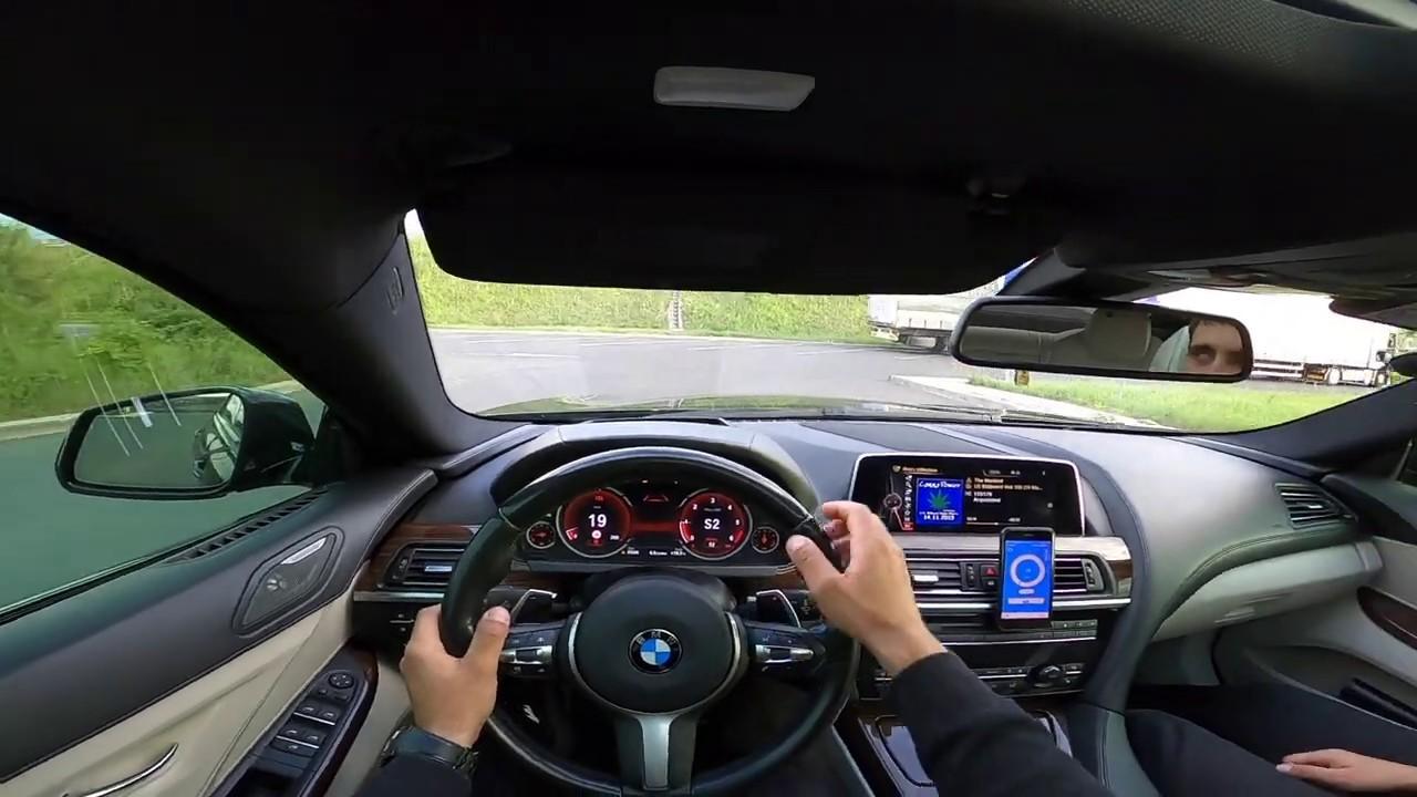 BMW 640d xDrive 313HP | POV 0-100km/h Acceleration | dragy
