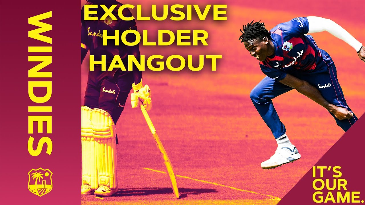 Hangout with new fast-bowling star Chemar Holder! | Maroon Hangouts | Windies