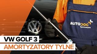 Jak wymontować Amortyzatory VW - przewodnik wideo