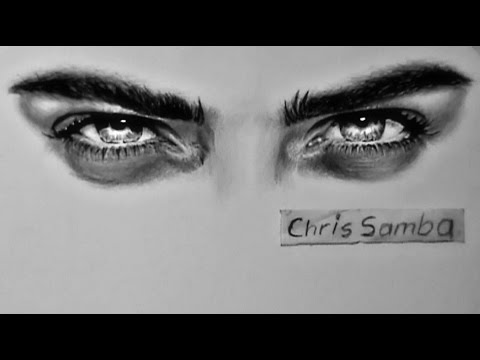 Super realistic Eyes (Drawing) - YouTube