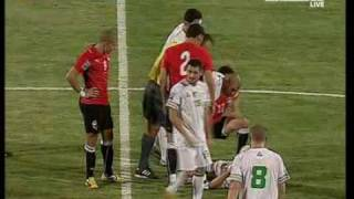 Algerie vs Egypt 18.11.2009 FULL MATCH -9/11 avec Hafid daraji
