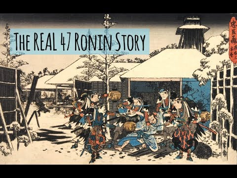 The Real 47 Ronin Story: A Mini-documentary of Samurai Loyalty and Revenge
