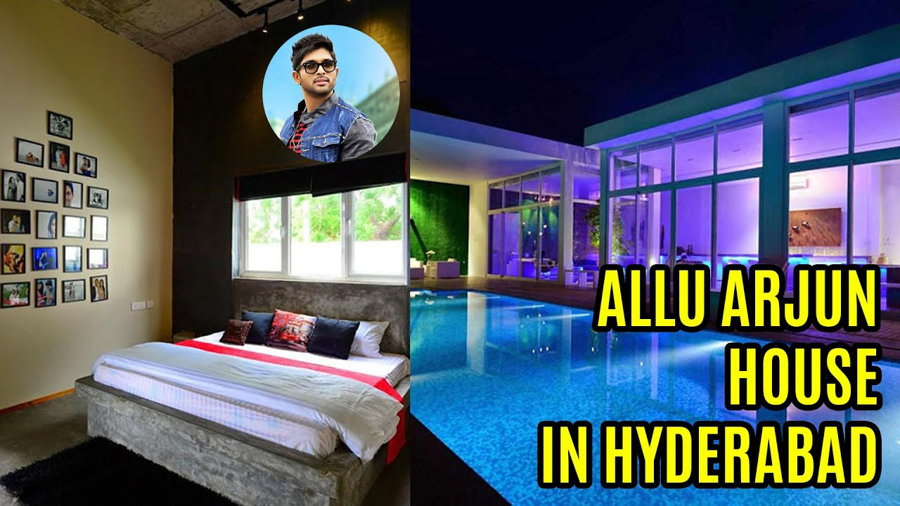 Allu Arjun House In Hyderabad   YouTube Part 29