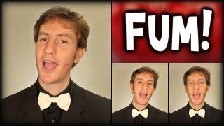 Fum Fum Fum - A Cappella Christmas Quartet Cover - Julien Neel