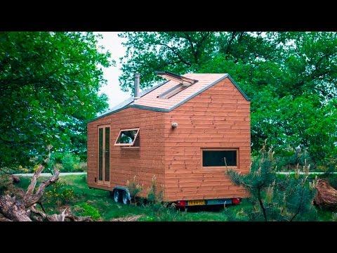 Marjolein Jonker The off-grid tiny house