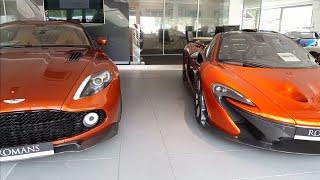 Supercars at romans international June 2018, Veyron, MC12, F50, P1, Zagato...
