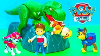PAW PATROL Nickelodeon Paw Patrol Dino Meal Game a Paw Patrol Video Toy Unboxing