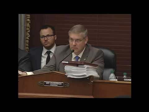Oversight Subcommittee Chairman Barry Loudermilk Questions Witnesses on FDIC Data Breaches